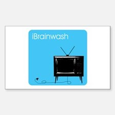iBrainwash Rectangle Decal