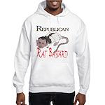 Republican Rat Bastard Hooded Sweatshirt