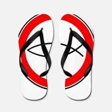 Cool Fish logo Flip Flops
