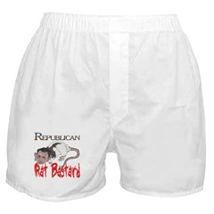 scratched Rat Bastard Boxer Shorts