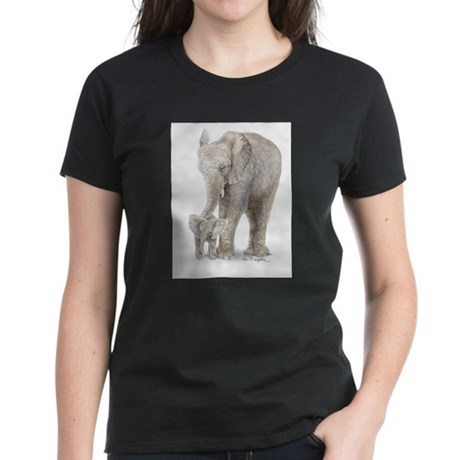 Mother and baby elephan T-Shirt