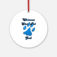 Shar Pei Dad3 Ornament (Round)