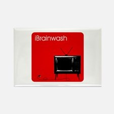 iBrainwash Rectangle Magnet