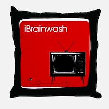 iBrainwash Throw Pillow