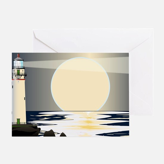 Cool Lighthouses Greeting Card