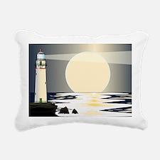 Cute Lighthouses Rectangular Canvas Pillow