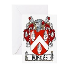Byrnes Coat of Arms Greeting Cards (Pk of 20)