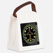 Unique Directional arrow Canvas Lunch Bag