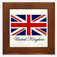 UK Flag Framed Tile