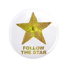 "follow the star 3.5"" Button (100 pack)"