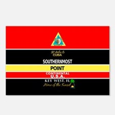 Southernmost Point Buoy Key West Postcards (Packag