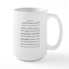 Minuet in G Major Mugs
