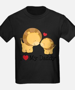 I Heart My Daddy T-Shirt