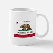 California Republic flag Mugs