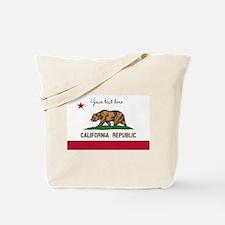 California Republic flag Tote Bag