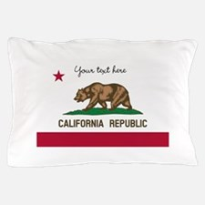 California Republic flag Pillow Case