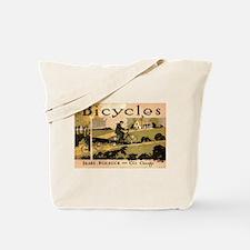 Sears Roebuck Bicycles Ad Tote Bag