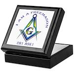 I am a Freemason Keepsake Box