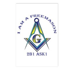 I am a Freemason Postcards (Package of 8)