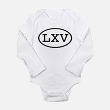 LXV Oval Body Suit