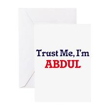 Trust Me, I'm Abdul Greeting Cards