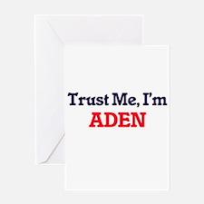 Trust Me, I'm Aden Greeting Cards