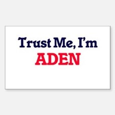 Trust Me, I'm Aden Decal