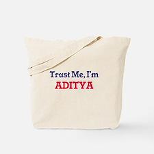Trust Me, I'm Aditya Tote Bag