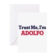 Trust Me, I'm Adolfo Greeting Cards