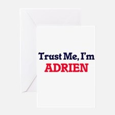 Trust Me, I'm Adrien Greeting Cards