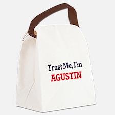 Trust Me, I'm Agustin Canvas Lunch Bag