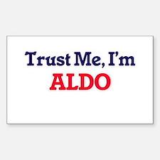 Trust Me, I'm Aldo Decal