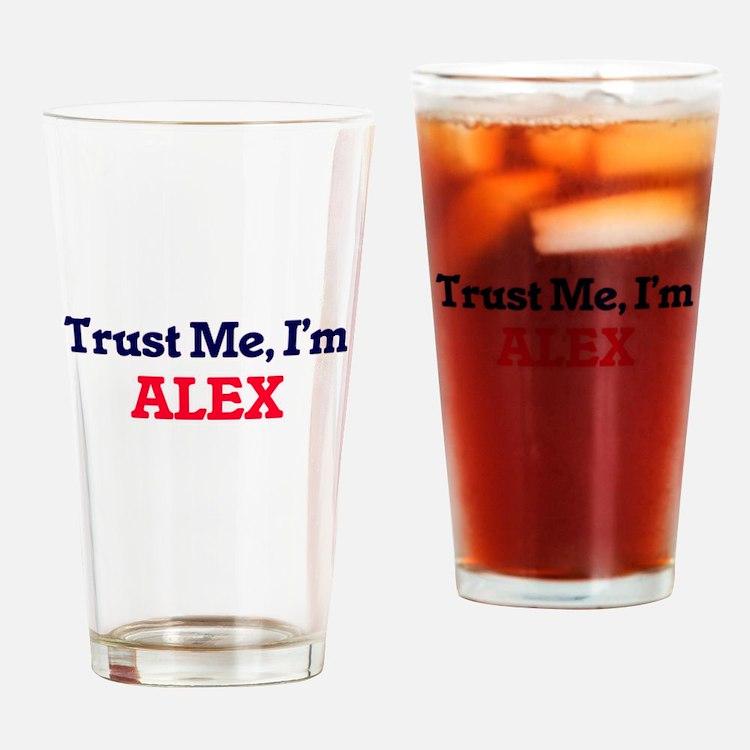 Trust Me, I'm Alex Drinking Glass