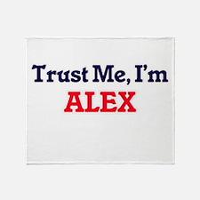 Trust Me, I'm Alex Throw Blanket