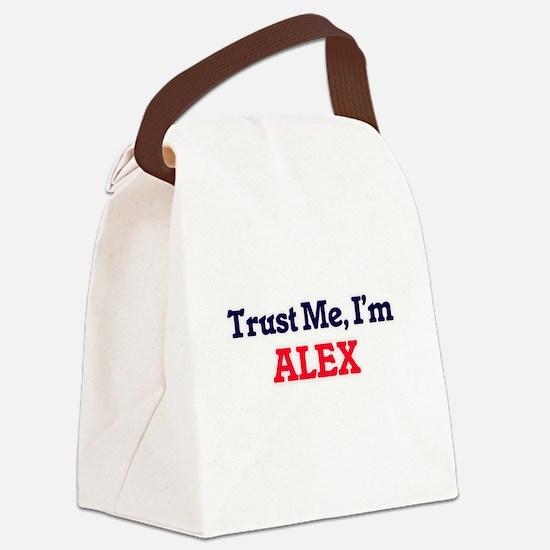 Trust Me, I'm Alex Canvas Lunch Bag