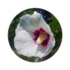 Rose of Sharon Ornament (Round)