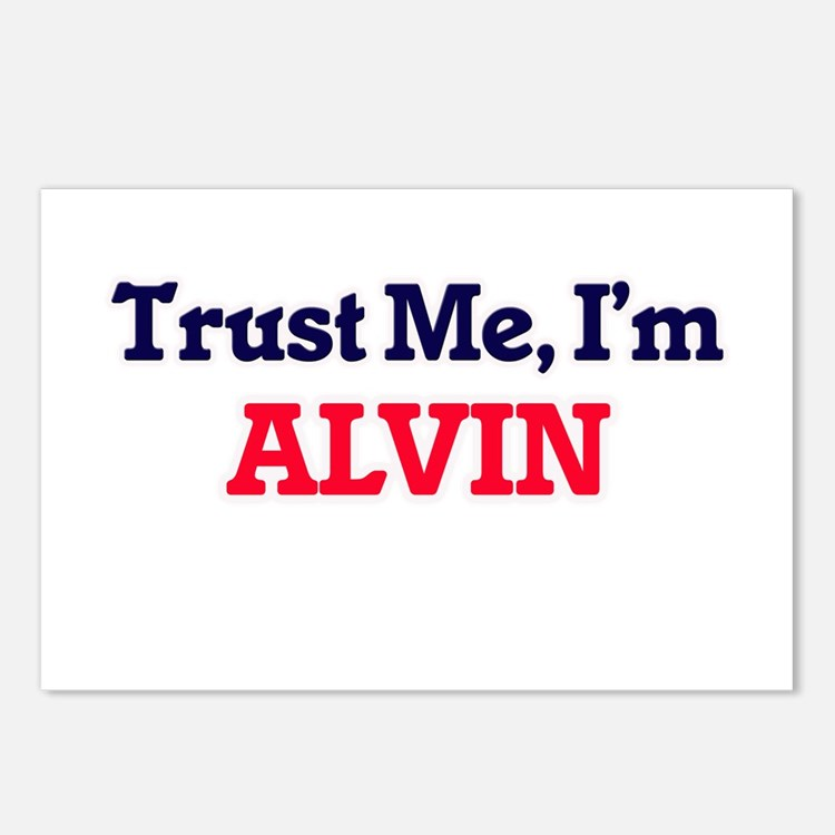 Trust Me, I'm Alvin Postcards (Package of 8)