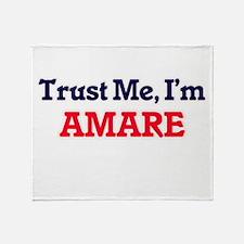 Trust Me, I'm Amare Throw Blanket