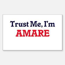 Trust Me, I'm Amare Decal