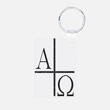 Unique Symbol Aluminum Photo Keychain