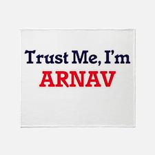 Trust Me, I'm Arnav Throw Blanket