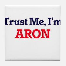 Trust Me, I'm Aron Tile Coaster