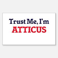 Trust Me, I'm Atticus Decal