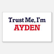 Trust Me, I'm Ayden Decal