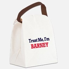 Trust Me, I'm Barney Canvas Lunch Bag