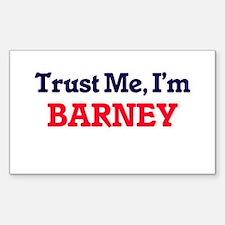 Trust Me, I'm Barney Decal
