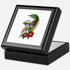Hula Girl Keepsake Box