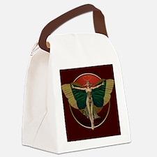 Flapper Fairy Canvas Lunch Bag