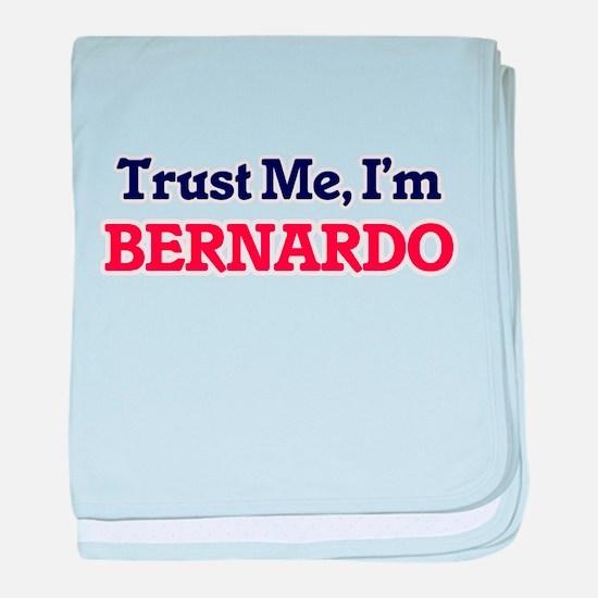 Trust Me, I'm Bernardo baby blanket