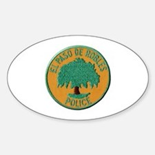 Paso Robles Police Decal